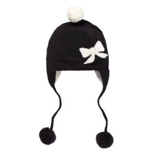 Kate spade bow wool hat